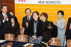 薬害肝炎全国原告団代表の山口美智子さん